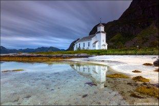 Gimsøy Church von Stefan Bock