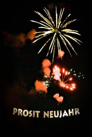 PROSIT NEUJAHR! von Manfred Fessel