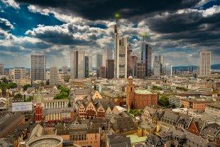 Skyline Frankfurt von Brandy Bär