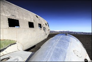 Sólheimasandur Plane Wreck Iceland XII von Stefan Bock