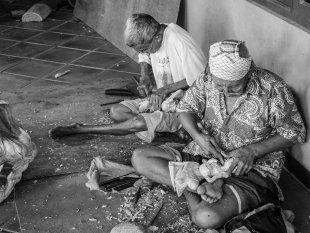 Schnitzer auf Bali von snuecke