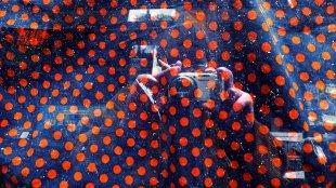 Self with Red Points von Gernot Schwarz