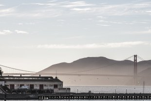 fog in San Francisco von MasterByte