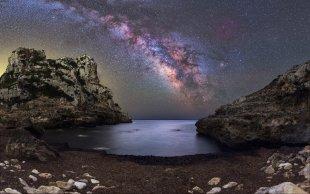 Cala de Llucalari Milkyway von Mario Konang - Lightrecords