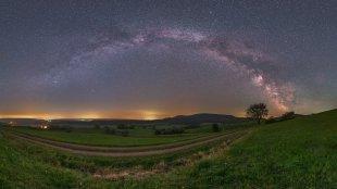 Auenland-Milchstraße von Mario Konang - Lightrecords