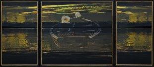 Überfahrt ( GI - Triptychon) von Martin Ruopp