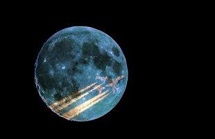 Mondflug von Blende 11