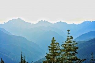 Western Olympic Mountains, WA State von bernddu