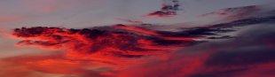 Sonnenuntergang vor Schweden von RüdigerLinse