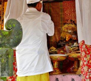 Blick in den Hauptschrein, Bali 9 von RüdigerLinse