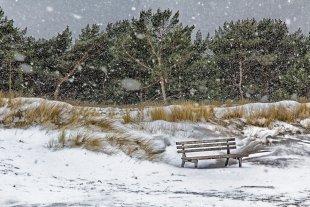 Schneetreiben von Reiner von der Schlei