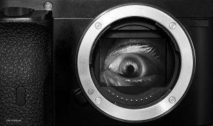 Das Auge der Kamera von Otto Hitzegrad