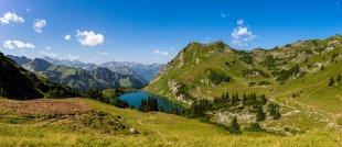 Panorama: Seealpsee am Nebelhorn von Fotoblogger