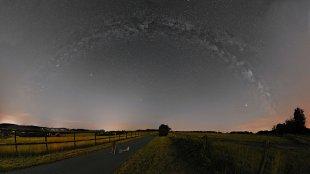 Panorama der Milchstraße von Pascal Kobel