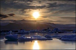 Moving Ice Jökulsárlón - Glacier Lagoon Iceland von Stefan Bock