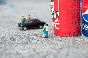 Geiselnahme an der Ecke KFC Pepsi von Ditmar Kerkhoff