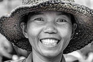 Markt Kambodscha 1 von Andrea Künstle