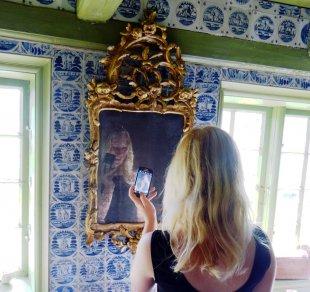 Spiegel an der Wand... von ollisteu