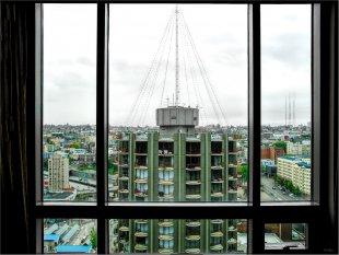 A Hilton Hotel window view to Seattle von FMW51