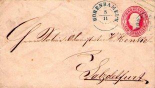 Königreich Hannover - Brief von 1861 von Oldletter