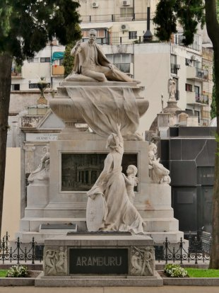 Friedhof in Buenos Aires 1 von RüdigerLinse
