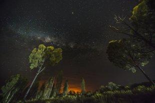 Nachthimmel ueber dem Outback von lmichael