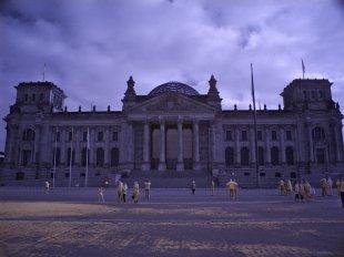 Infrarotfoto vom Reichstag von sauerlinse