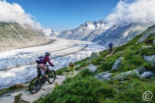 Mountainbiken im Wallis von Kosh_hh