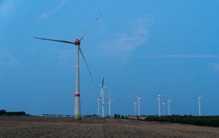 Windpark von Beerwith