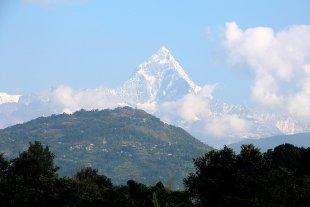 Himalayablick von Heike Maier
