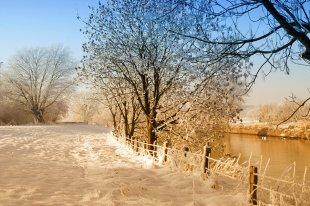 Niederrhein Winter von benderson