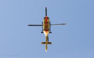 ADAC Hubschrauber von unten von Mario68
