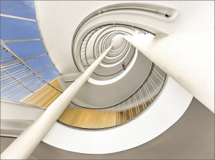 Treppe im Junior-Haus von Herbert  A Franke