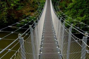 Hängebrücke Oberes Donautal von annaundich