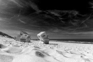Strandkörbe auf Sylt von Markus Schelhorn