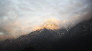 wenn der Berg glüht von koaxial