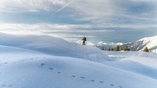 Winter in den Alpen von clickpix