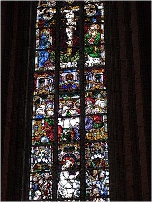Glasmalerei im Dom St. Nikolaus, Stendal (Ausschnitt) von calvin&hobbes