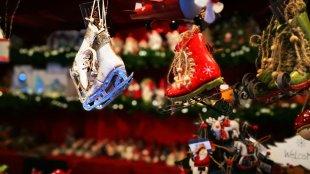 auf dem Weihnachtsmarkt von bauerkloschwitz