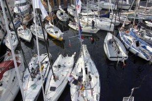 Silverrudder 2016, Svendborg, Hafenbecken von mikemars