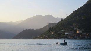Abendstimmung am Lago d'Iseo von snuecke