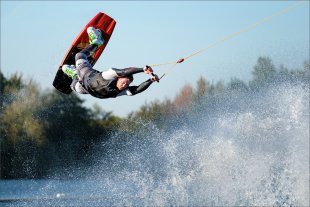 Wakeboarding... von Jaroslaw M