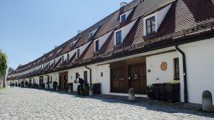 Salzgasse in Landsberg am Lech von C.G.Schilcher