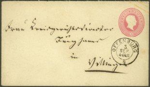 Großherzogtum Baden - Brief von 1867 von Oldletter