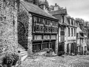 Mittelalterliche Straße von NeuH