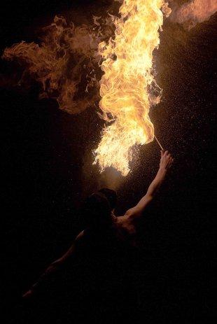 Feuerfrau von Klicker3D