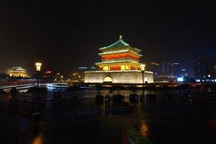 Glockenturm in Xi'an, China von Volker H.