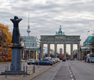 Brandenburger Tor von Erhard Bartels