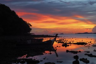Sonnenuntergang auf Kho Yoa Yai von Max Majorelle