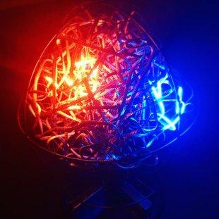 Lichterkettenkneul @ 34c3 von simonwaldherr